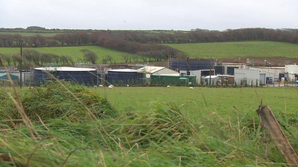 Cornish creamery's 'fishy stink' causes village outcry