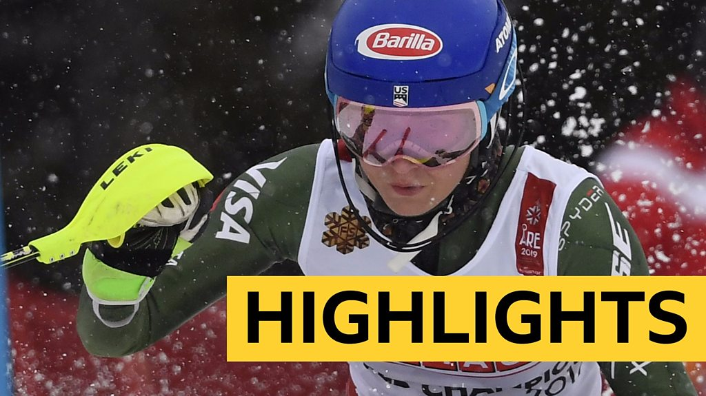 Mikaela Shiffrin wins fourth slalom gold at World Championships
