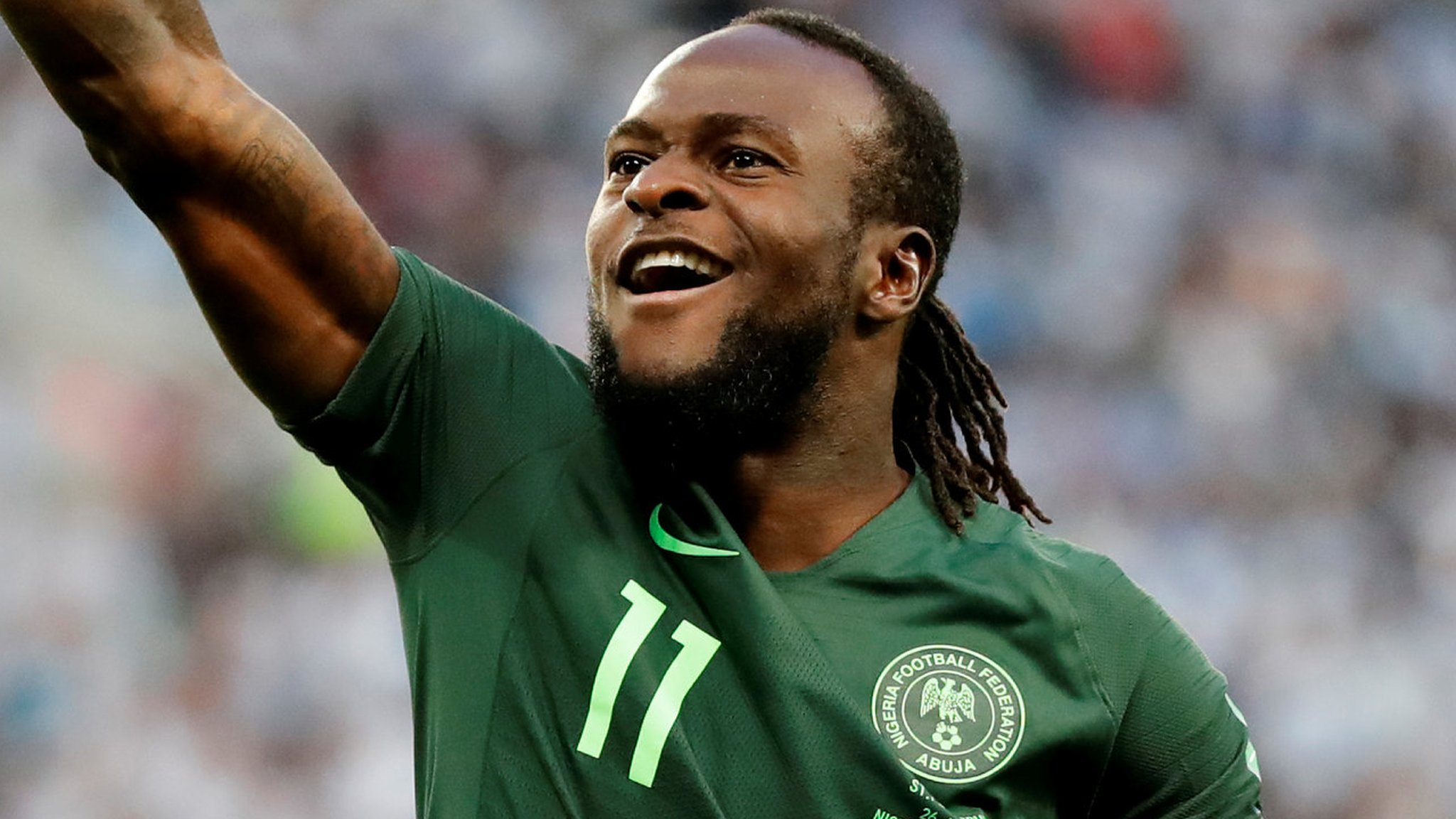 Chelsea's Moses retires from international duty with Nigeria