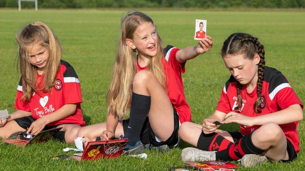 Rothwell Juniors girls' team
