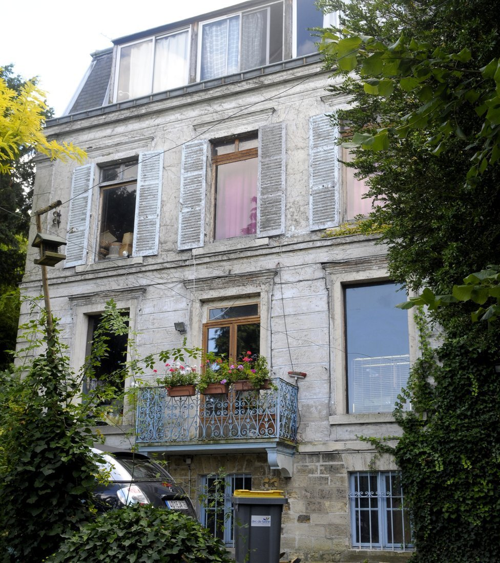 House of Louis-Ferdinand Céline and his wife Lucette in Meudon near Paris
