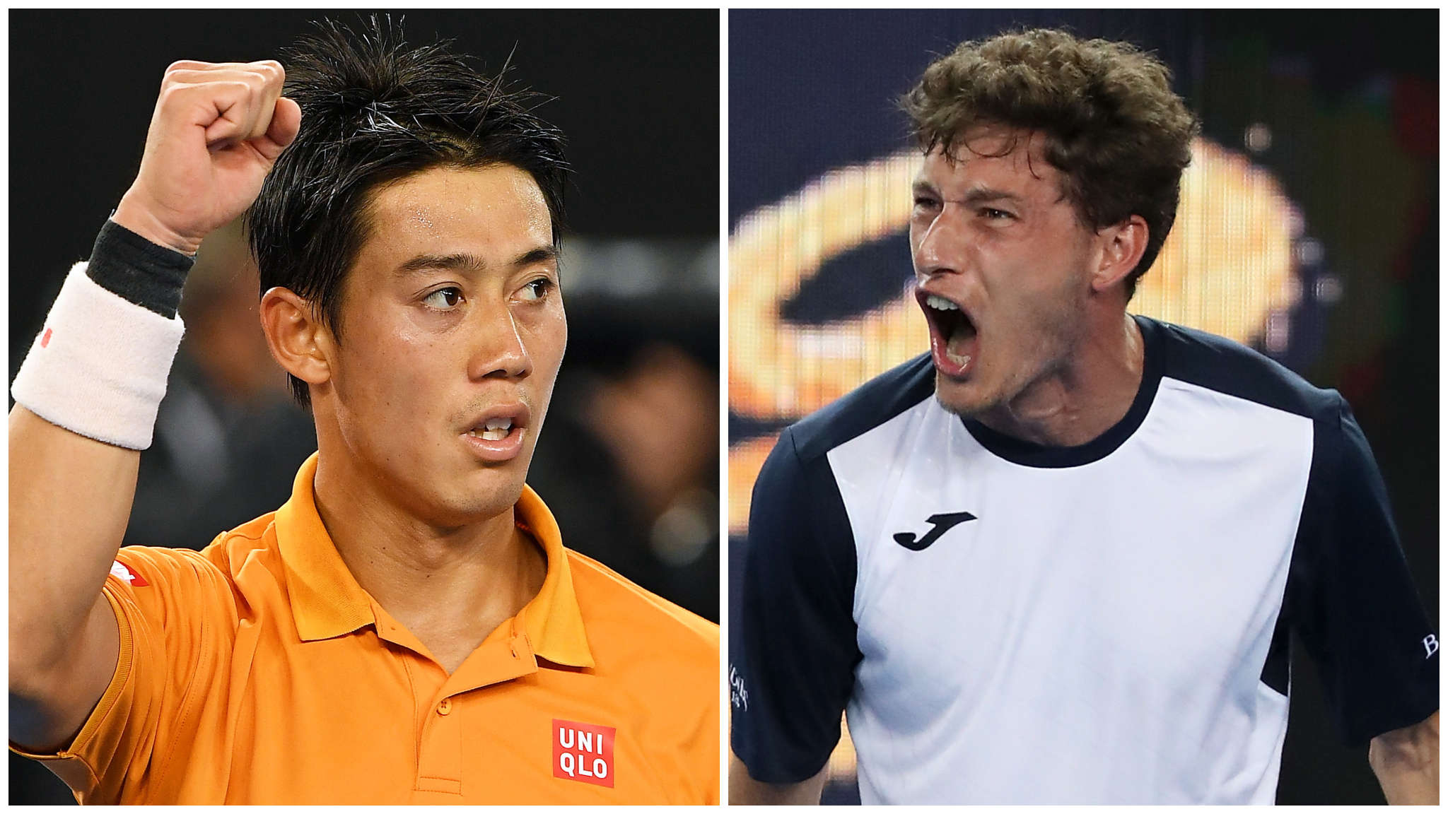 Nishikori through in five-set thriller as Carreno Busta apologises for on-court meltdown