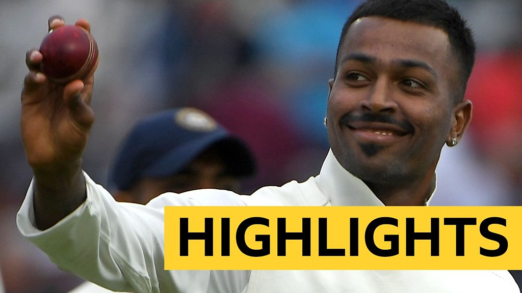 England v India highlights: Hardik Pandya takes five wickets as hosts lose 10 in one session