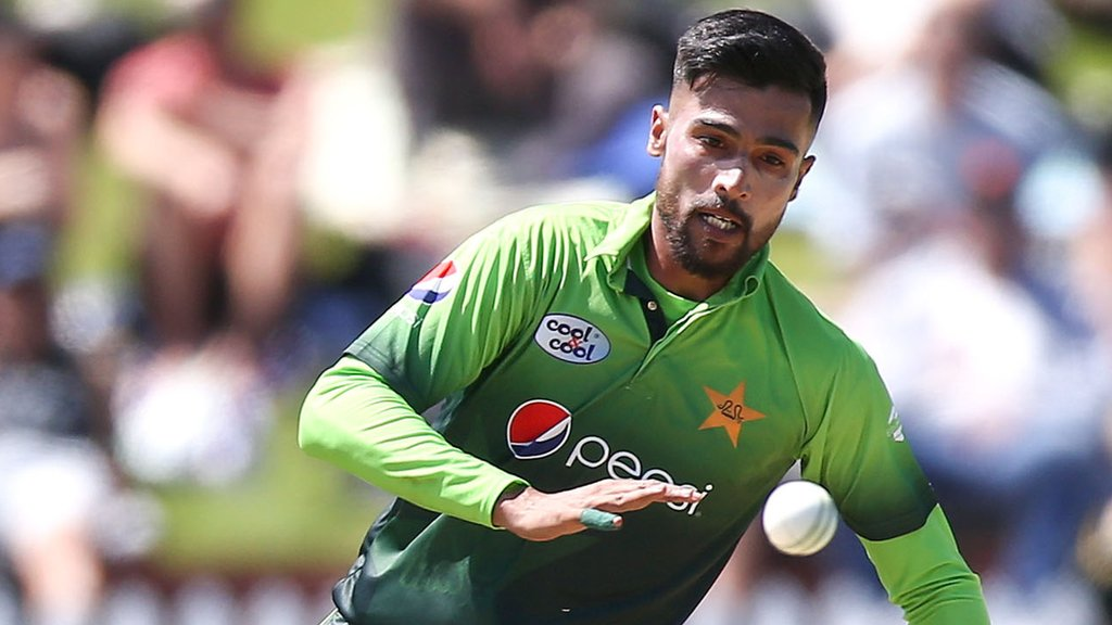 Amir not named in Pakistan World Cup squad