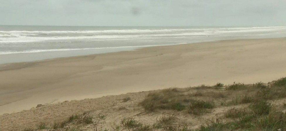 Gironde beach