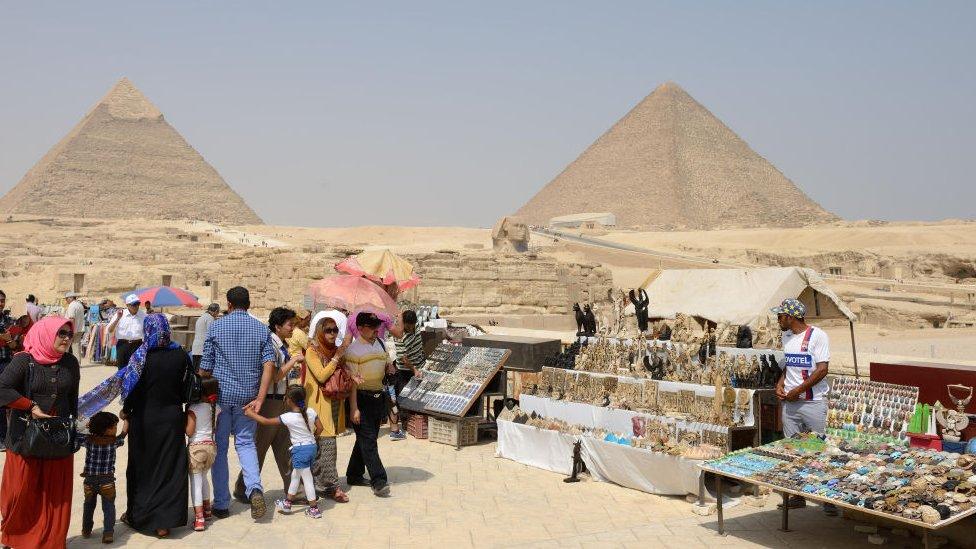Vendedores en el Cairo