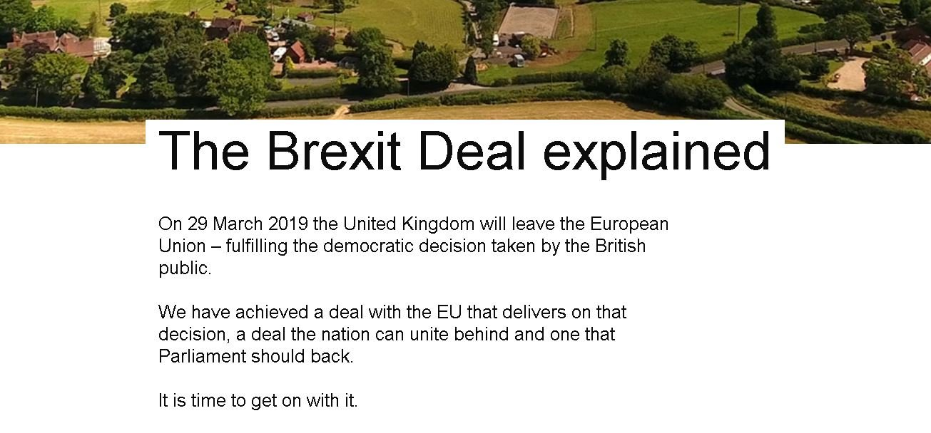 The Brexit Deal explained