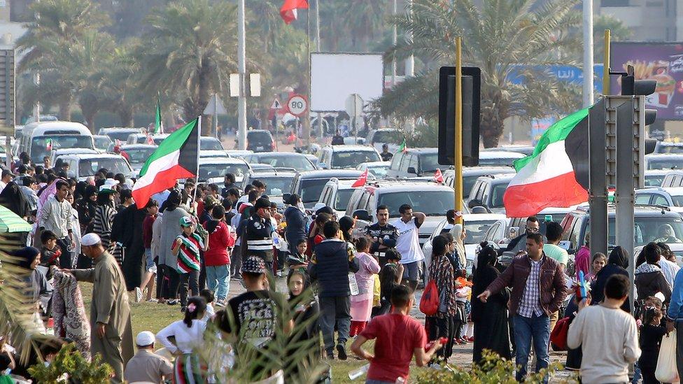 الكويت في عيدها الوطني