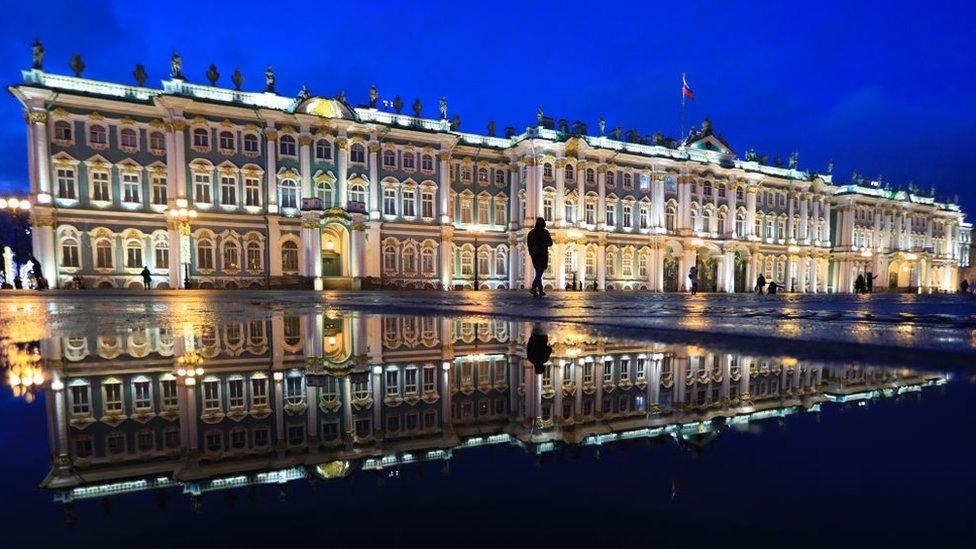 Museo del Hermitage de San Petersburgo.