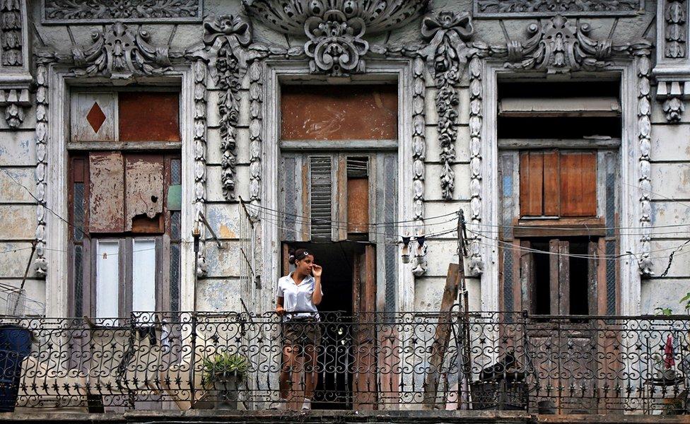 Paseo del Prado main street in Havana