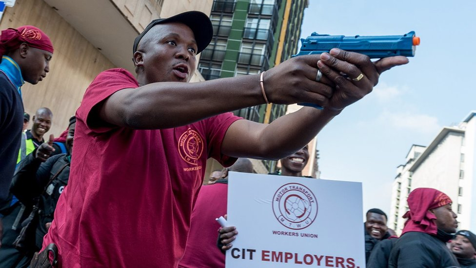 South Africa's cash-in-transit heists: A national emergency?
