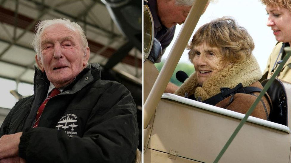 Second World War veterans have train named after them