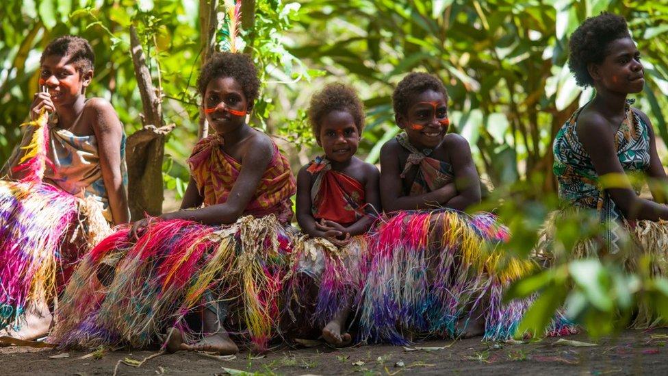 Devojčice iz Vanuatua