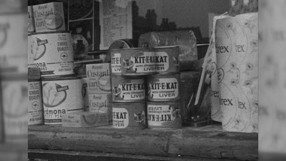 Tins of Kitekat