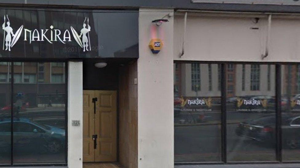 Nakira nightclub, Birmingham