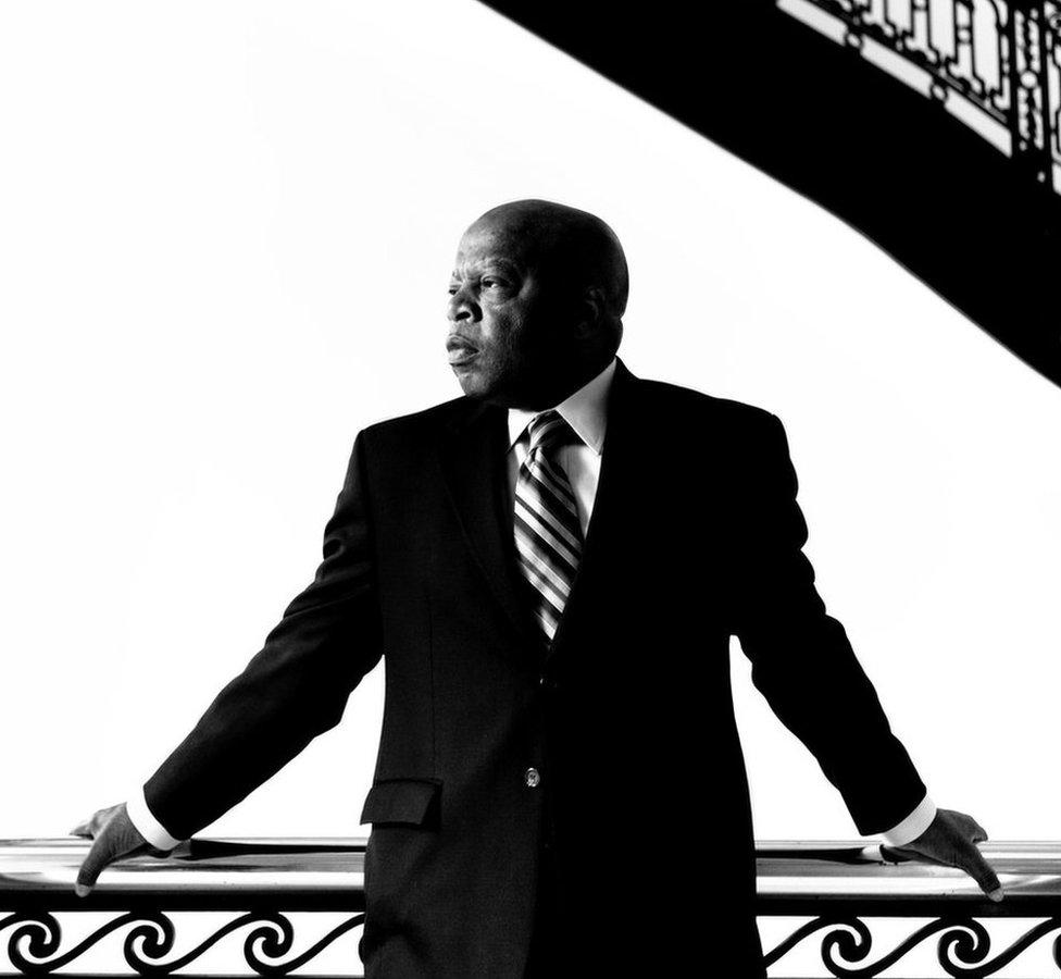 John Lewis in 2009