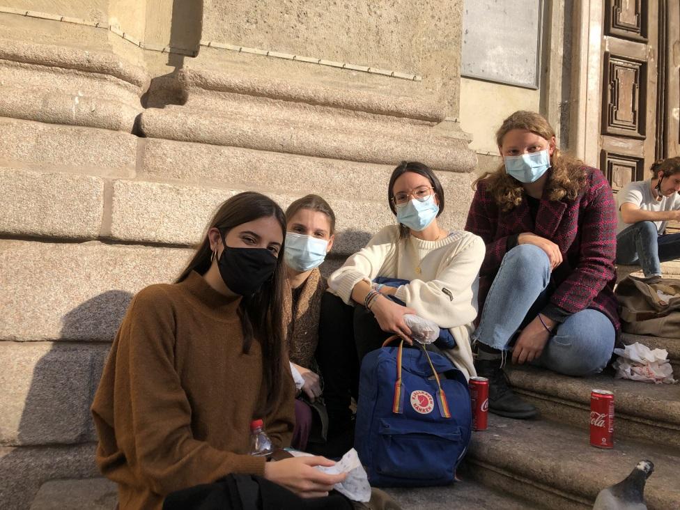Milano, studentkinje