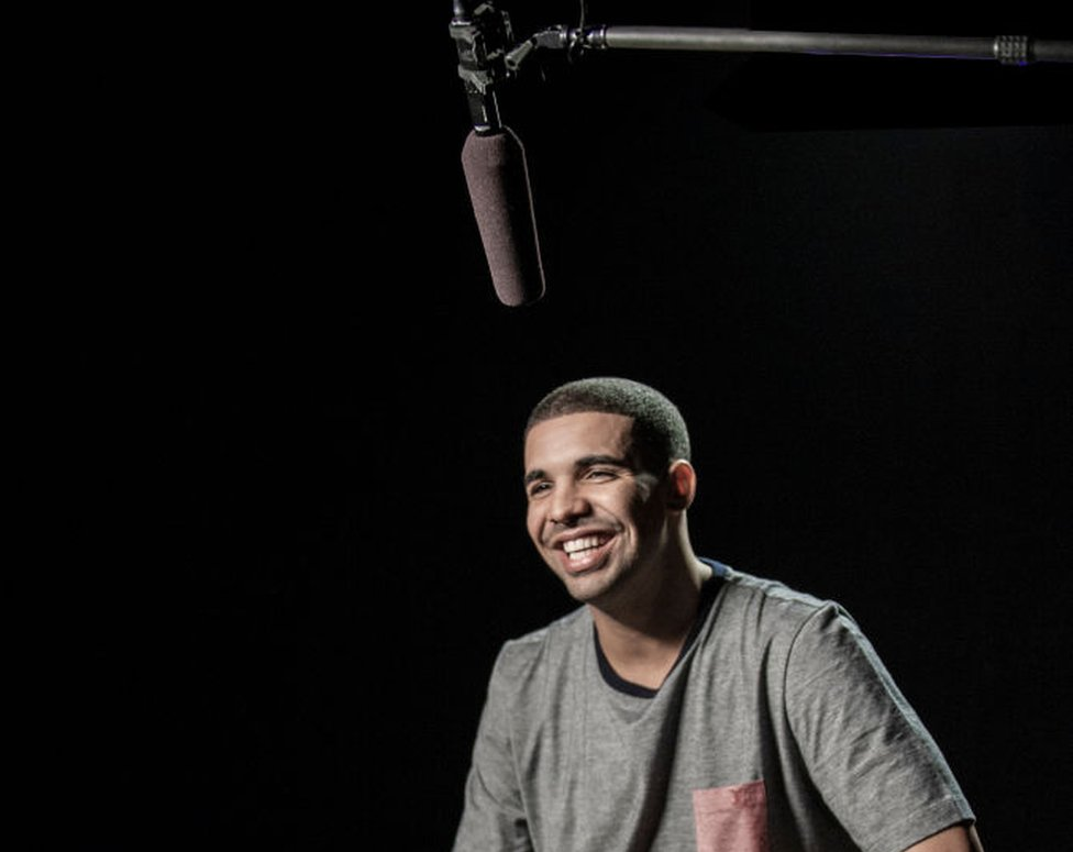 Drake in an interview