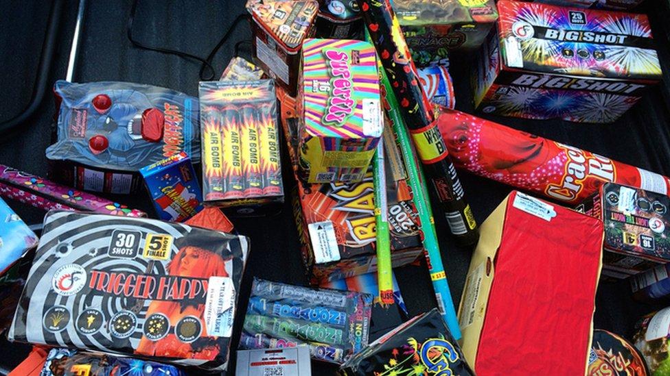Firework packaging
