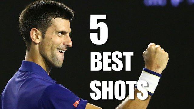 Djokovic beats Federer in gripping match
