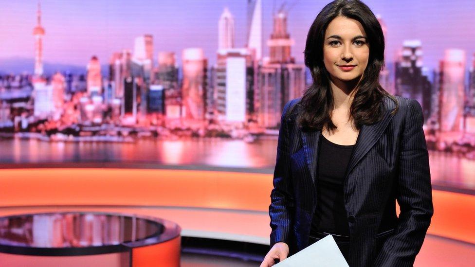 Yalda Hakim, de la BBC.