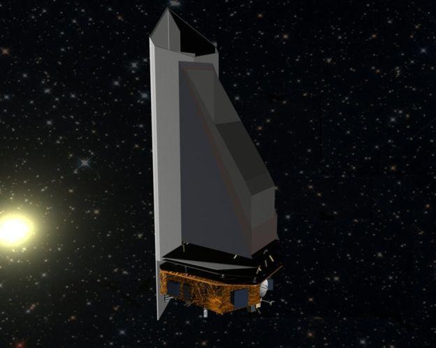BBC / NO USAR Dibujo del observatorio NeoCam