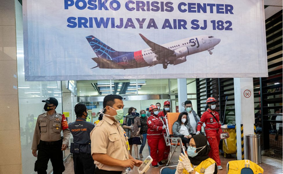 Crisis centre in Soekarno Hatta Airport, on January 9, 2021 in Jakarta, Indonesia