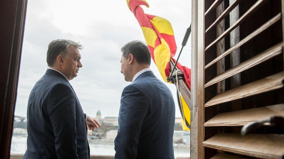 Orban i Gruevski, Budimpešta, 20. novembar 2015.