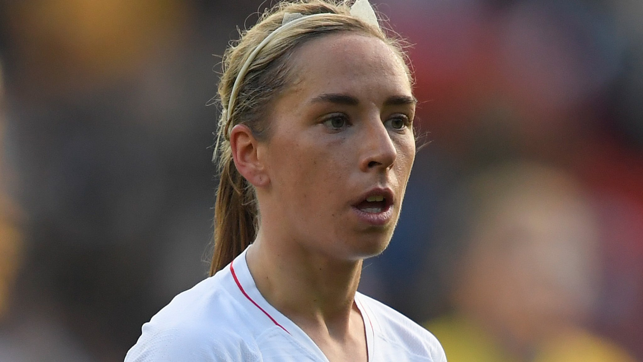 My period was a high factor in knee injury - England's Nobbs