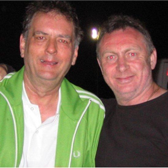 Geraint Jarman a Les Morrison
