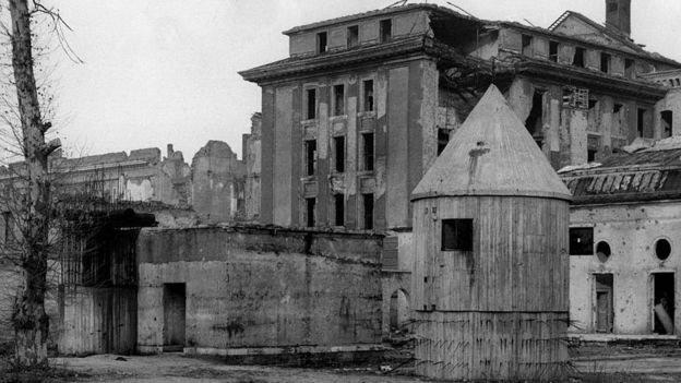 Bunker Hitler di Jerman.