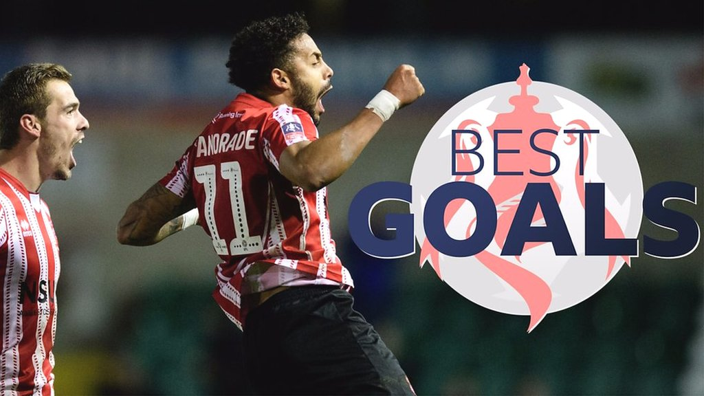 FA Cup: Best goals from FA Cup first round
