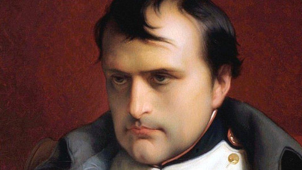 畫家保羅·德拉羅什(Paul Delaroche)筆下的法蘭西人的皇帝拿破侖一世(Napoleon I, Emperor Of The French)