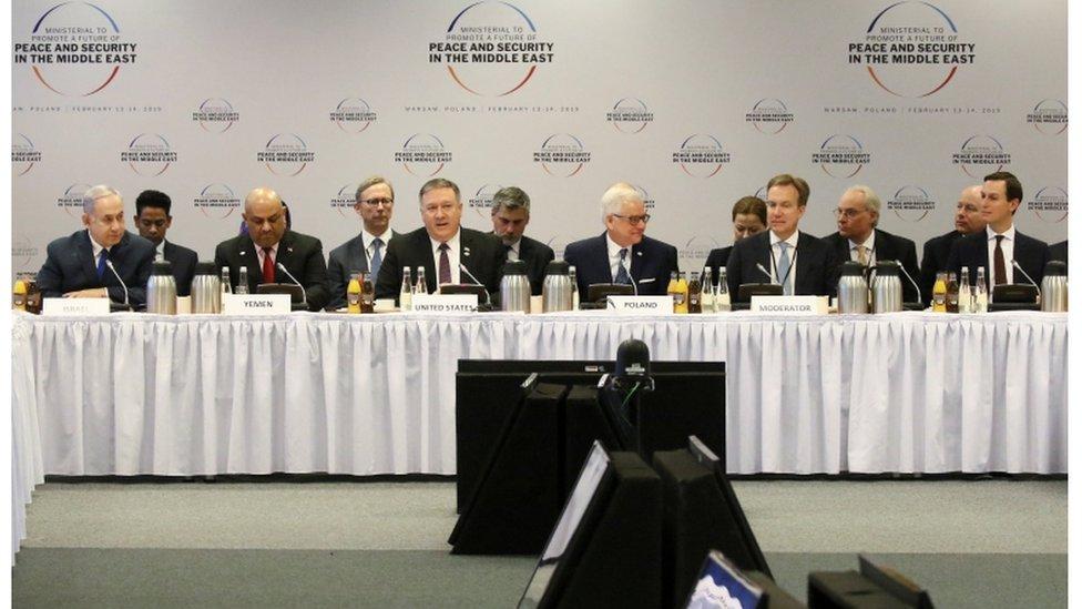 أكثر من 60 دولة شاركت في مؤتمر وارسو