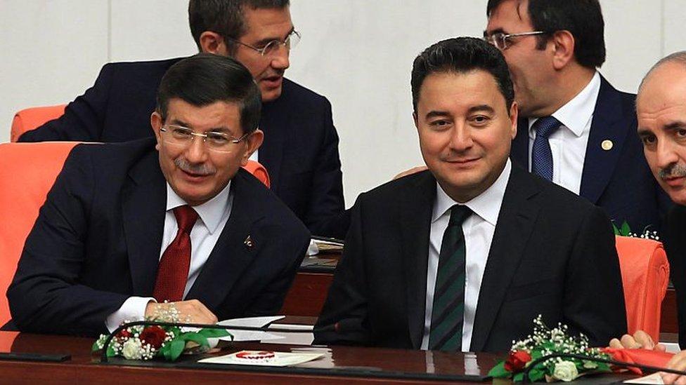 Ahmet Davutoğlu ve Ali Babacan