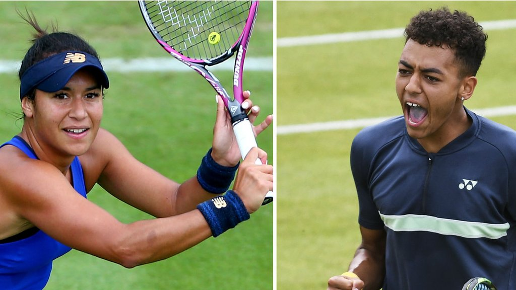 Wimbledon: Heather Watson & Paul Jubb among singles wildcards