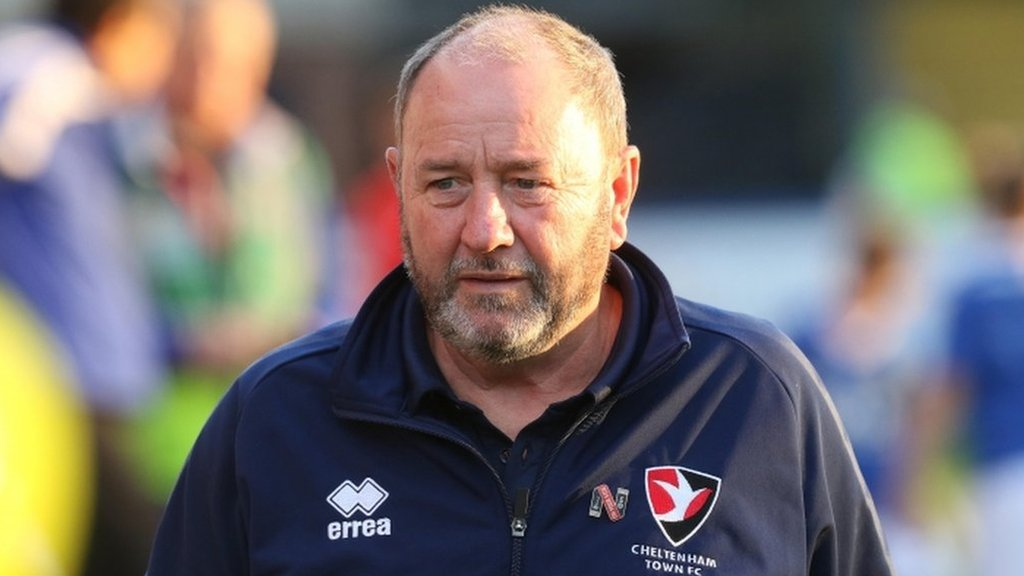 Cheltenham sack manager Johnson four games into League Two season