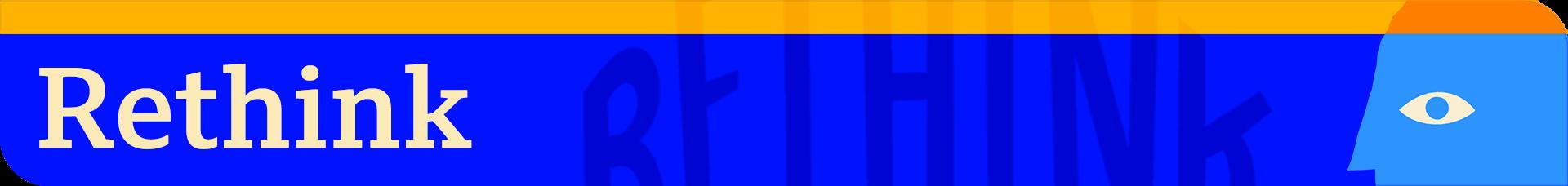 Rethink logo banner