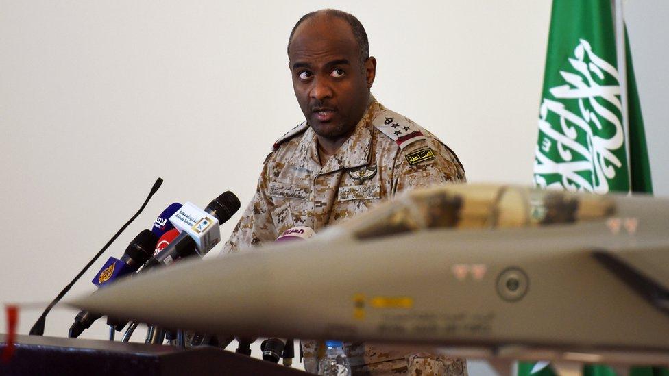 Saudi military spokesman Brig Gen Ahmed al-Asiri