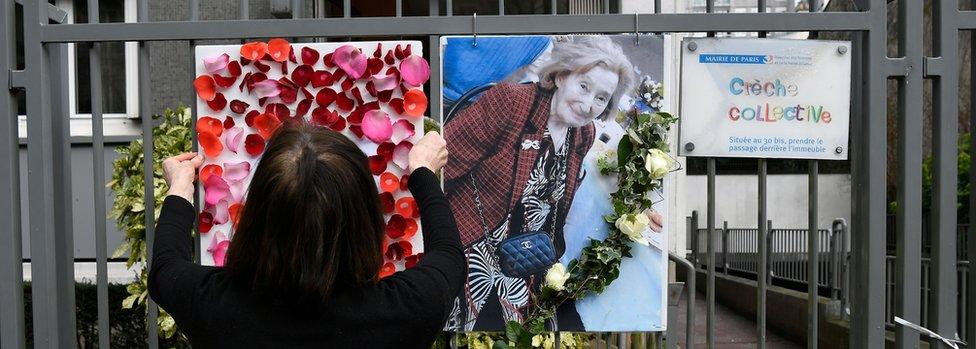 Homenaje a Mireille Knoll