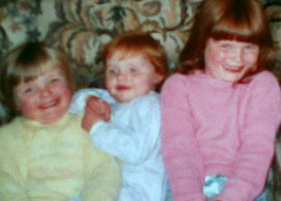 Jacquie and her sisters