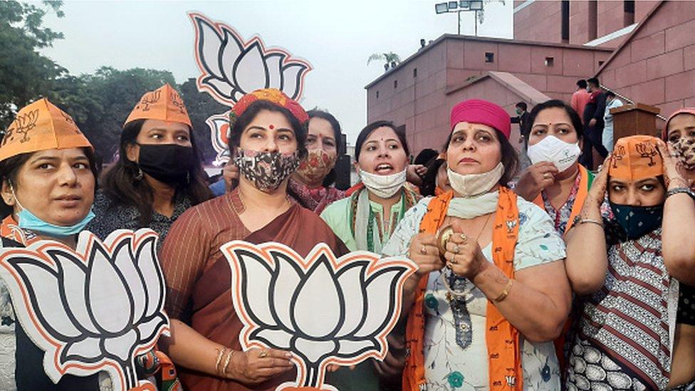Bihar election: India's BJP coalition wins key state election - BBC News