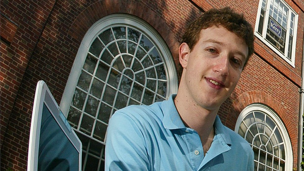 Mark Zuckerberg en 2004