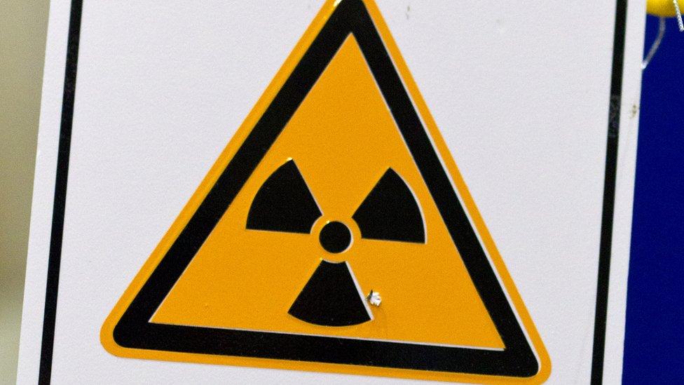 Upozorenje za nuklearni materijal