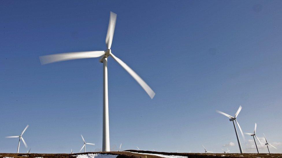 Windfarm, Scotland