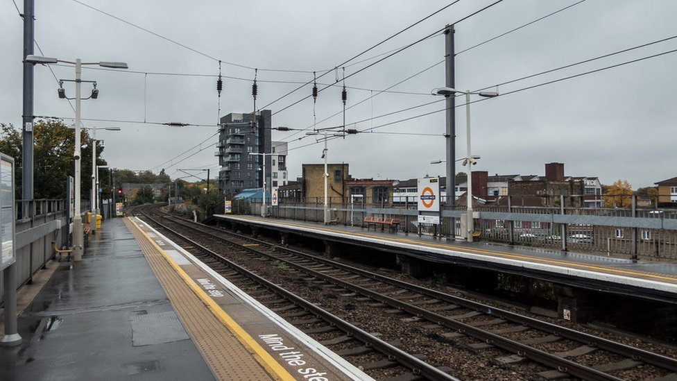 Bodies found on track 'fell from train'