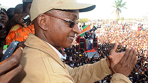 Guinean opposition leader Cellou Dalein Diallo