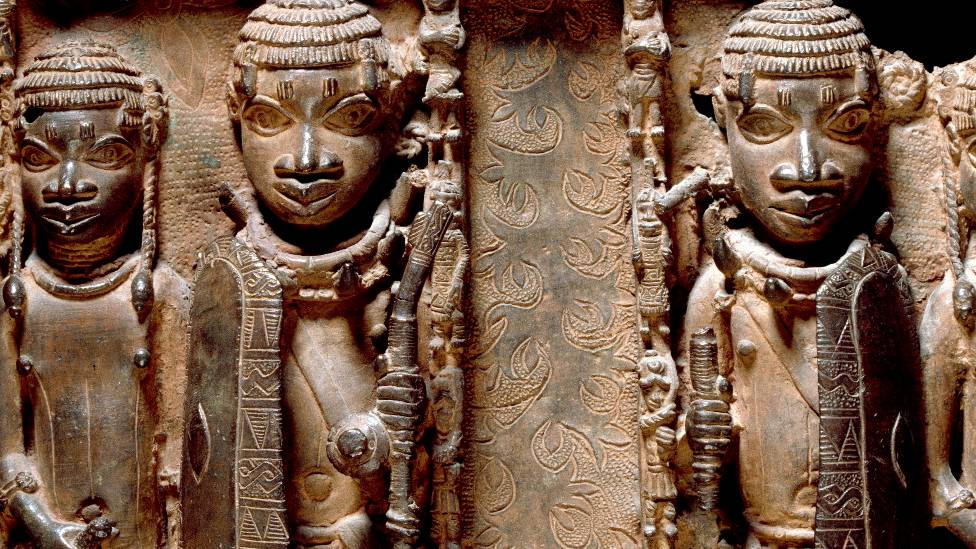 Benin Bronzes were stolen from the ancient city by the British army