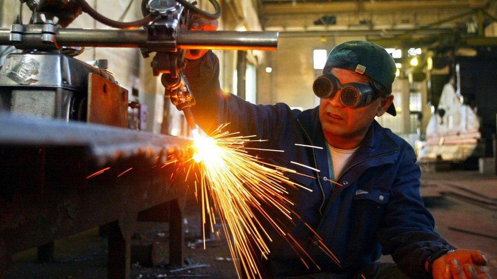 Fabrica de acero
