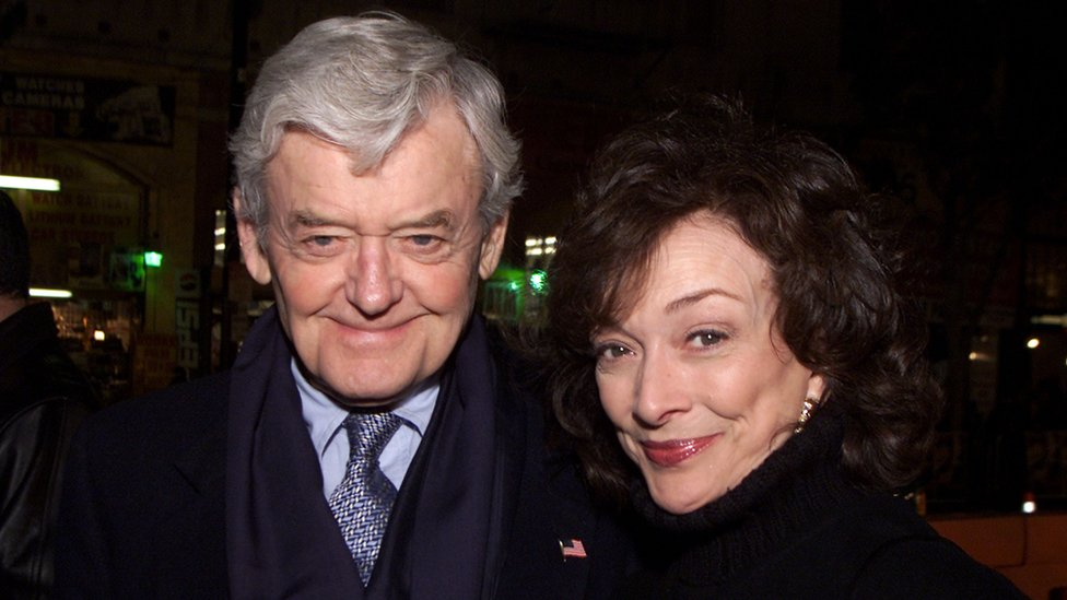 Hal Holbrook and his wife Dixie Carter